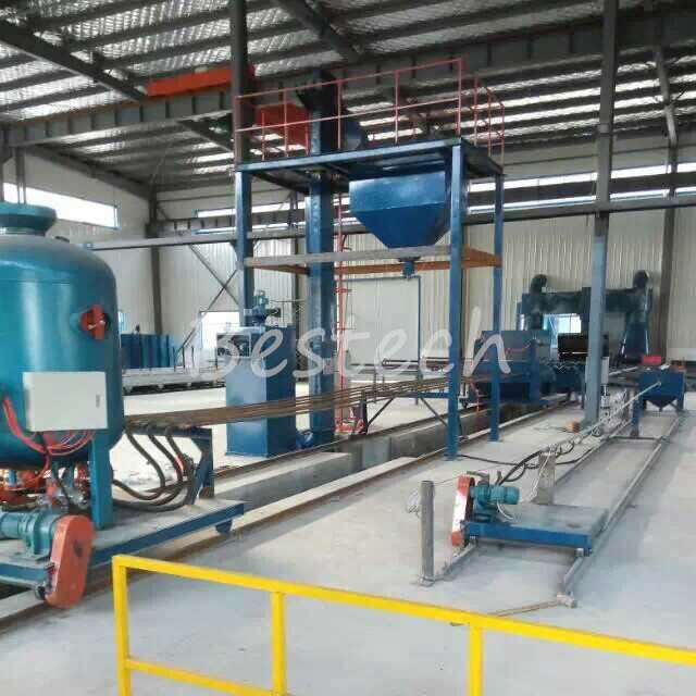 Steel Pipe Inner Wall Shot Blasting Machine