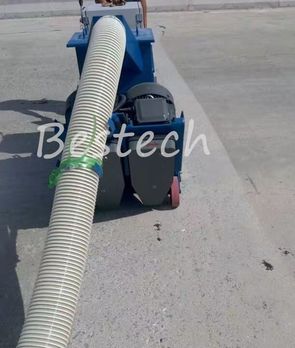 Mobile Bridge Deck Shot Blasting Machine