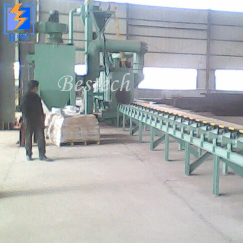 Steel Pipe External Wall Shot Blasting Machine