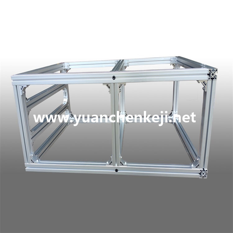 Customized Non-standard Sheet Metal Fabrication of Aluminum Profile Frame