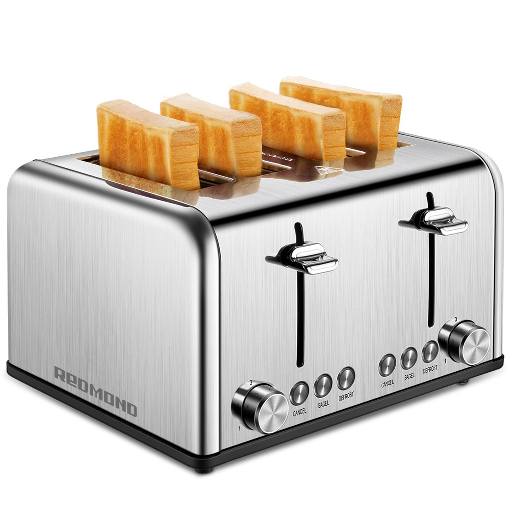 Stainless Steel 4 Slice Toaster ST026