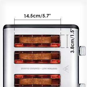 Colorful Stainless Steel Toaster ST006