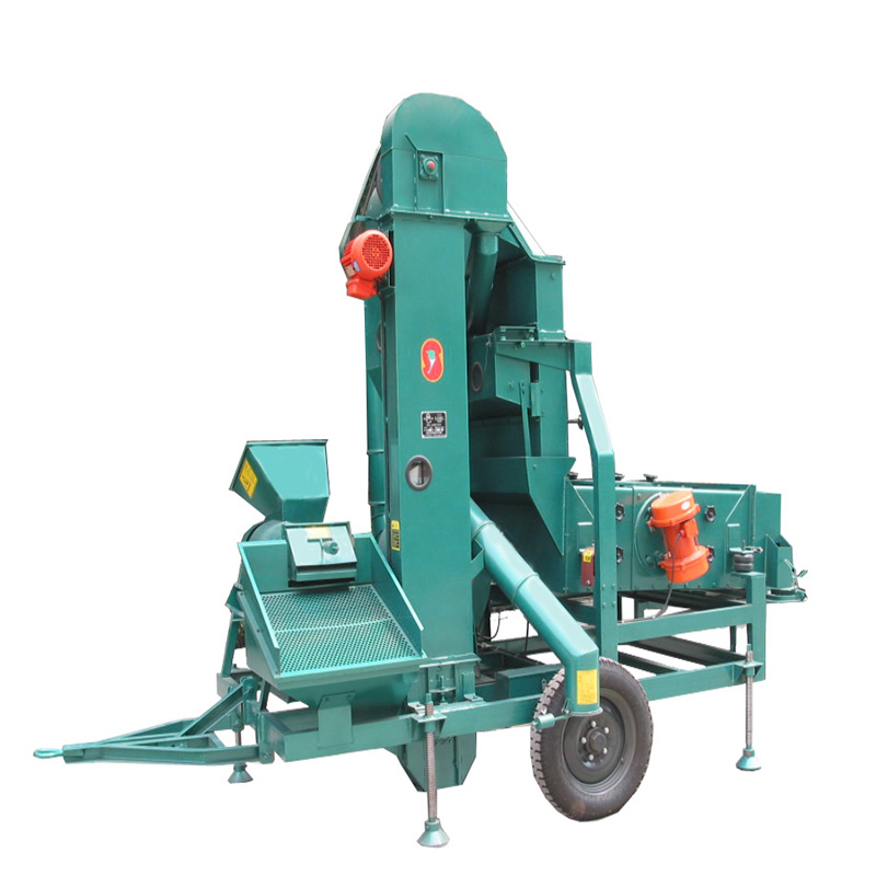 5XT(F)C series Maize Dehulling and Screen Cleaning Machine