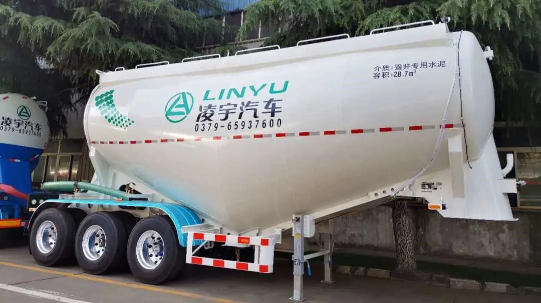 Semi Trailer Series Cement Bulk Carrier
