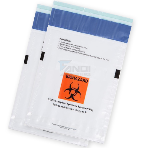 Medical Biohazard Specimen Bags