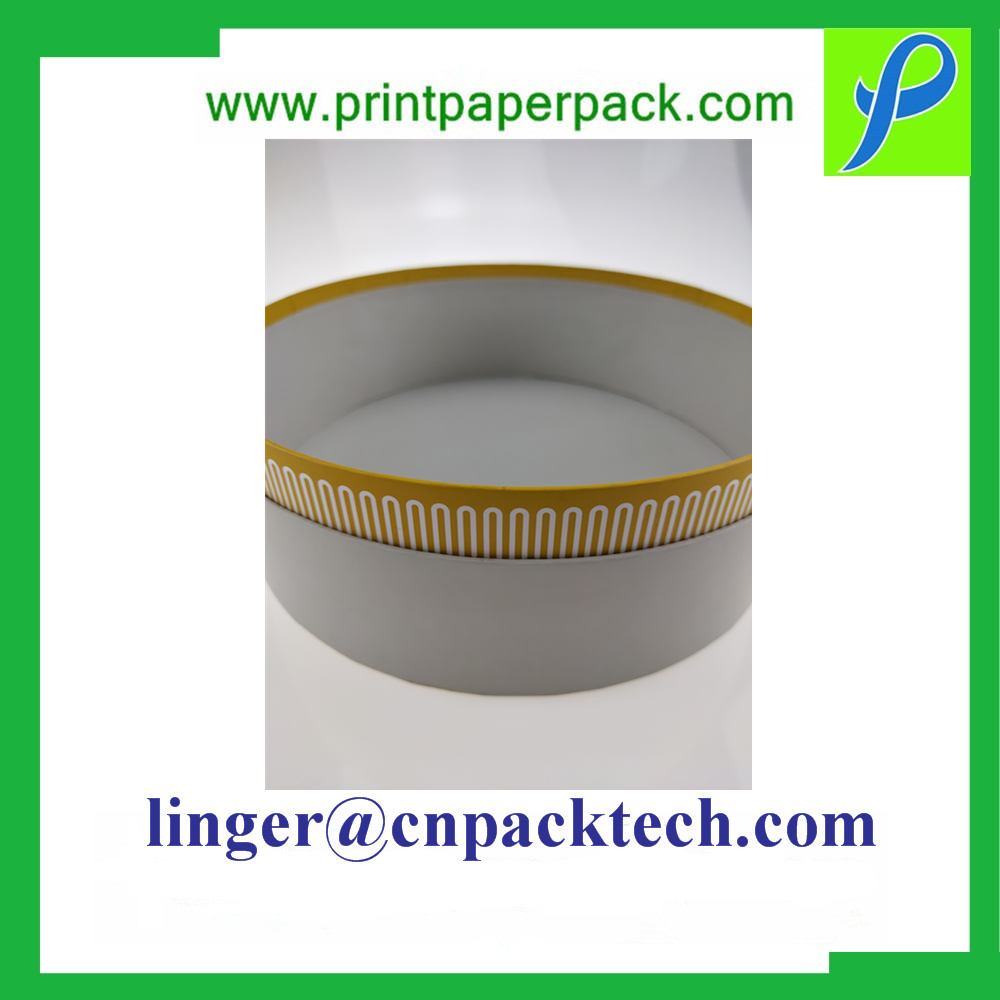 Customized Printing & Pattern Food Grade Paper Tube Cylindrical Box