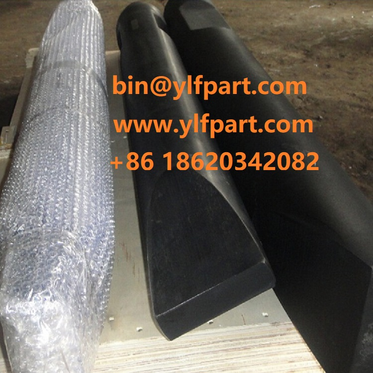 MSB MS460H MS520H MS550H MS600 hydraulic breaker chisel MS700 MS800 MS810H MS900 MS1000H excavator parts rock hammer moil point