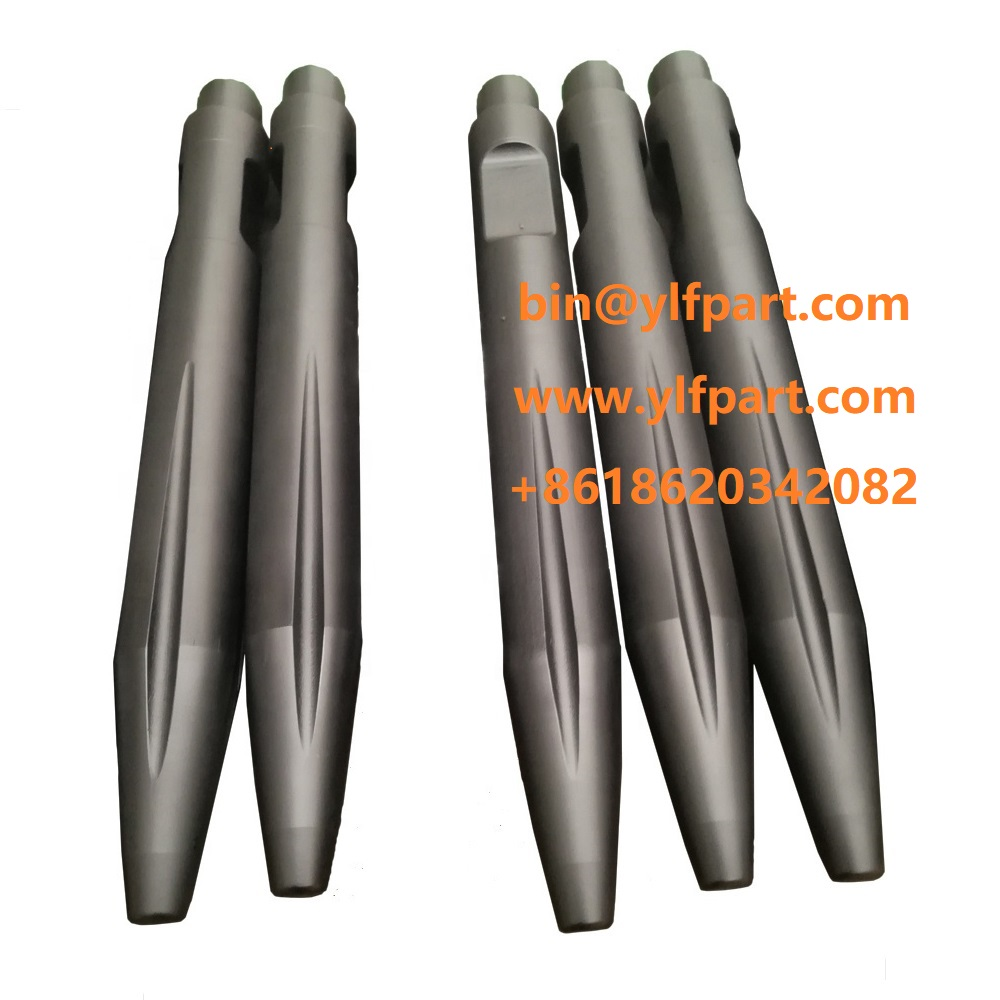 Allied Concrete chisel machine moil point HY-RAM77 HY-RAM88 HY-RAM700 HY-RAM710/711 Ally rock breaker fitting chisel drill tool