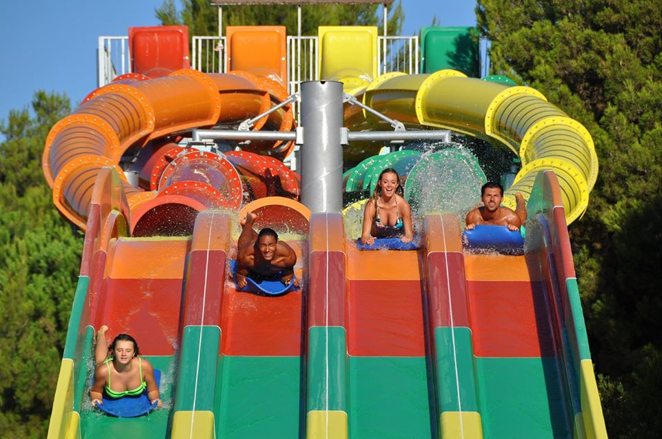 Twist Racing Water Slide