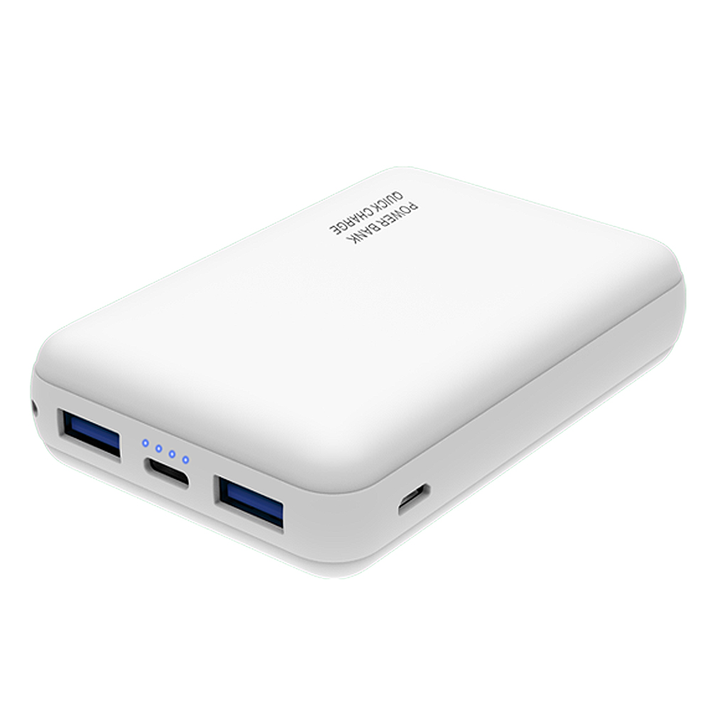 Quick Charger Power Bank 10000mah Mini Size Mobile Power Pack QC3.0 Power Banks USB Charger Battery