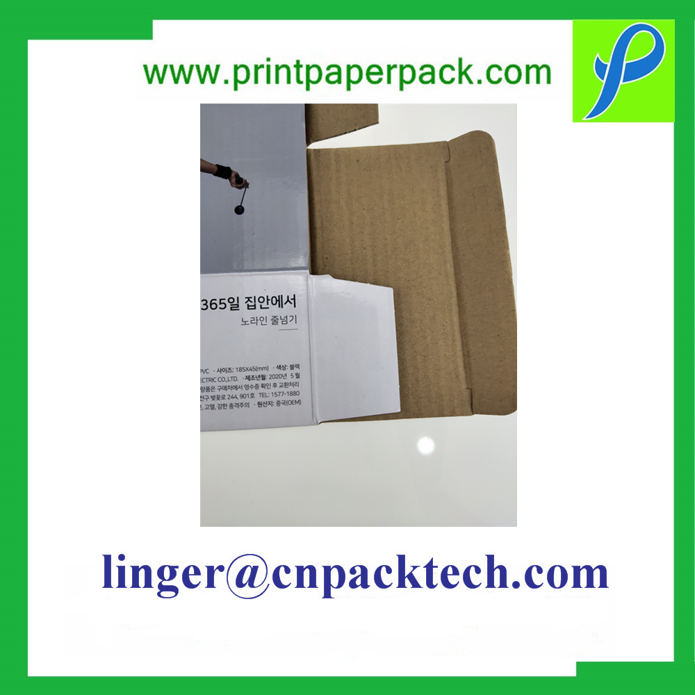 Bespoke Sturdy Sports Accessories Corrugated Paper Box