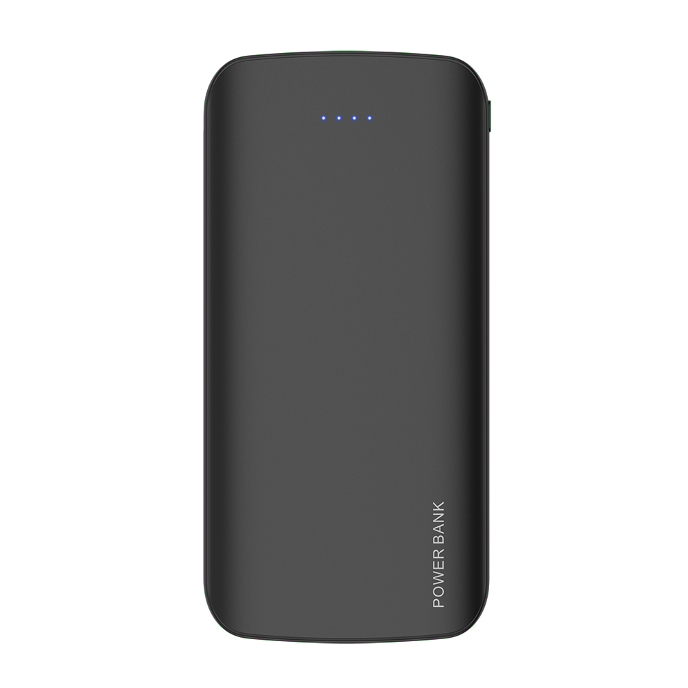 Slim Universal Powerbank Smart Output Power Bank 10000mah Dual USB 2.1A Output/Type-C