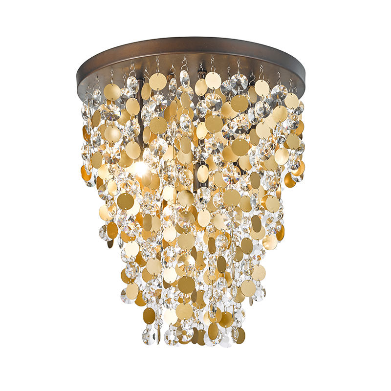 6 Light G9 Luxurious Crystal Ceiling Lamp Nc3238c-6br