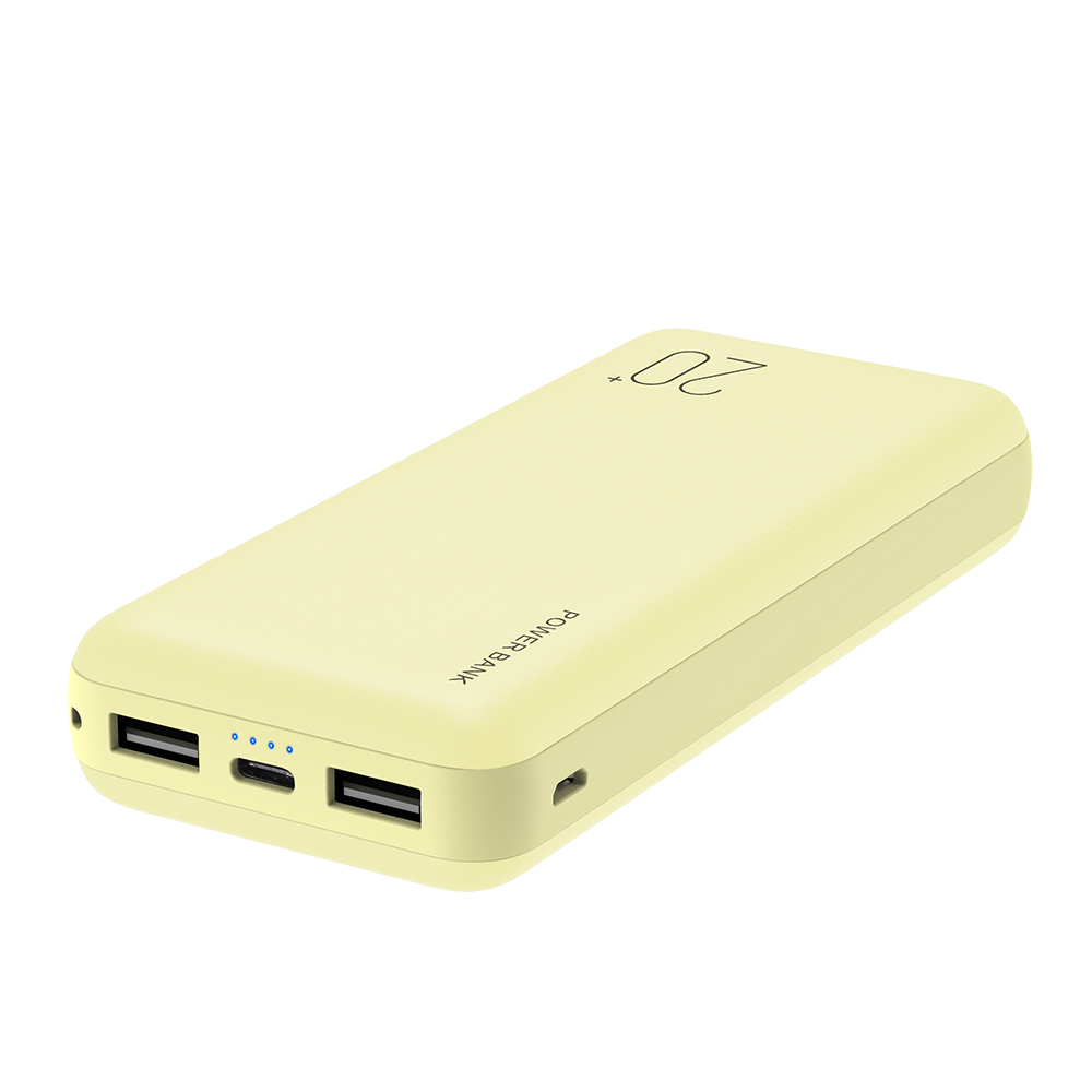 High capacity custom logo battery power bank 20000mah powerbank Type C output charger 20000 mah power banks