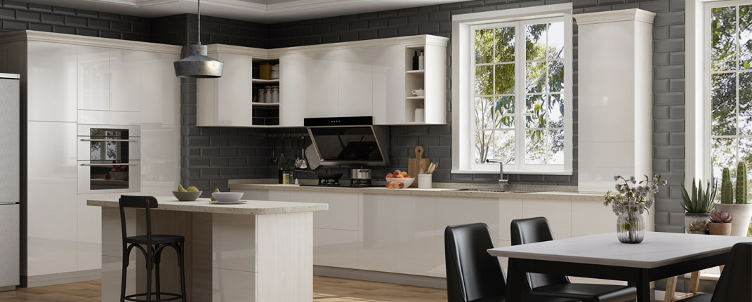 ALL Simple European Kitchen Cabinets