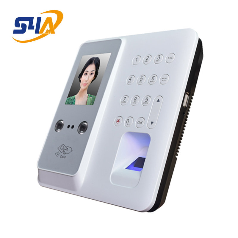 Dynamic facial recognition access control with Fingerprint and password support Attendance machine