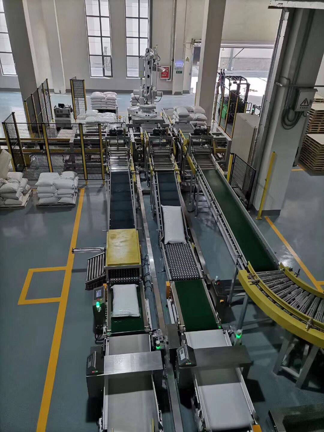 Fully Automatic Packing Palletizing Line, Containerised Bagging System, Mobile Bagging Unit, Mobile Containserized Bagging Unit, Fully Automatic Packing System, Wuxi HY Machinery Co., Ltd.