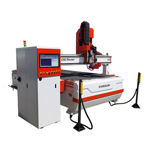 Best CNC Router Cutting Machine with Oscillating Knife