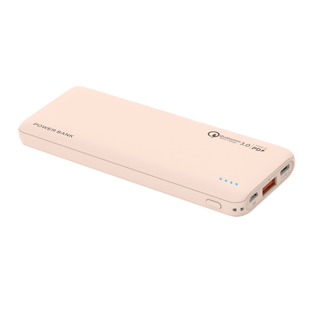 18W QC3.0 10000mAh Power Bank Fast Charging USB Type C Portable Mobile Charger External Batteries Powerbank