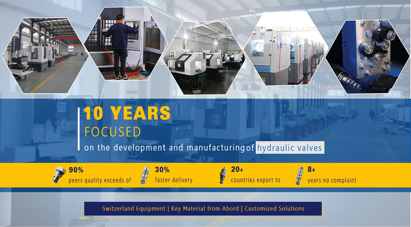 AAK hydraulic valve quality higher than 90% of the peers, successfully salvage the client's foreign trade customers