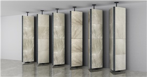 [EXE DISPLAY] Tile Marble Stone Display Cabinet