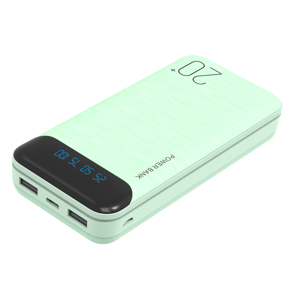 Factory Price High Capacity 20000mah Power Bank with Dual USB Ports Mobile Charger