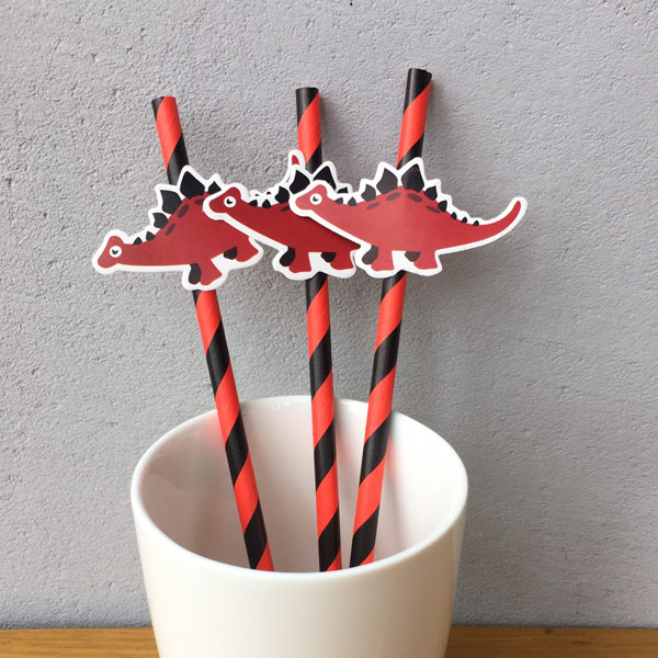 Custom Party Paper Straws