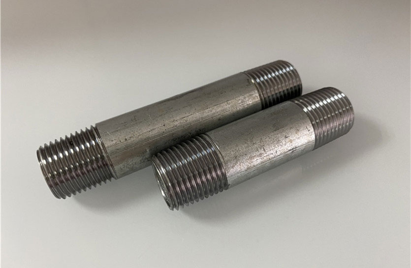 GALVANIZED PIPE NIPPLES