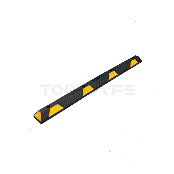 1830mm Rubber Parking Wheel Stops Black/Yellow