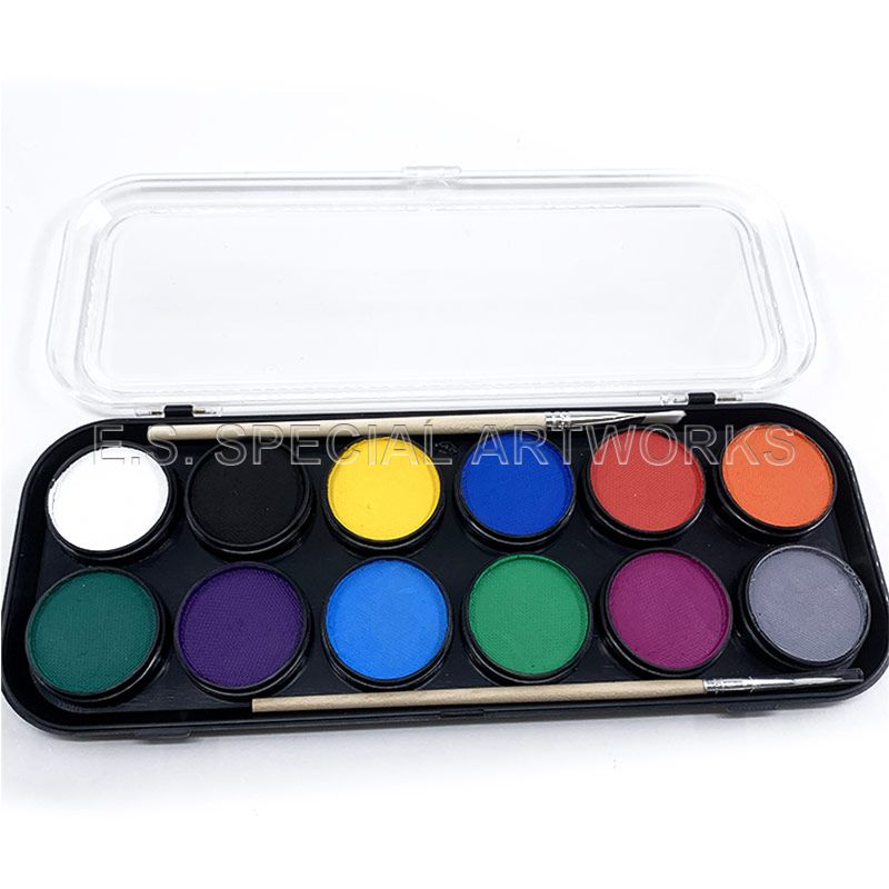 ES-FPE-012 12 customized Color Professional Round Palette