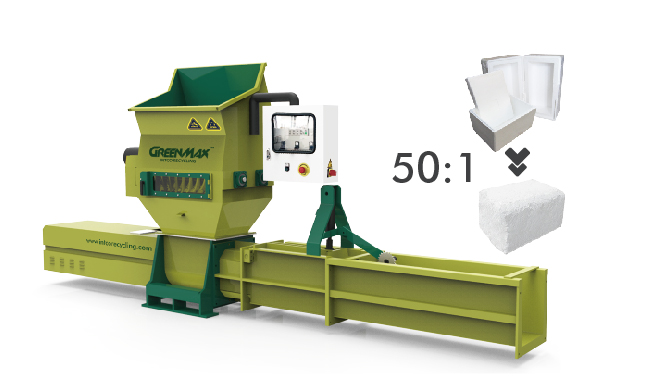 GREENMAX foam compactor A-C200 for sale