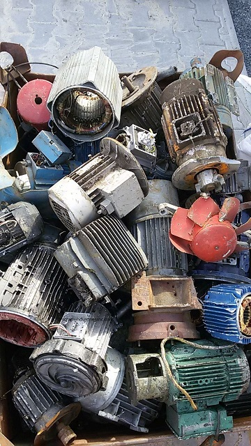 Electric motors, scrap electric motor, ELMO scrap price