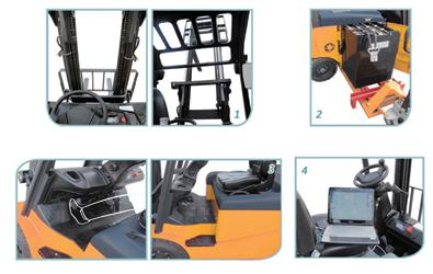 CPD35 Electric Forklift Truck