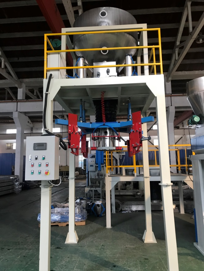 cat sand bagging machine