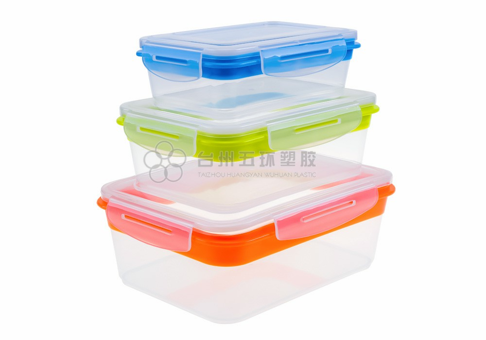 Disposable Plastic Food Storage Container set