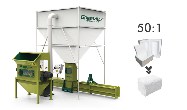 GREENMAX foam compactor A-C300 for sale