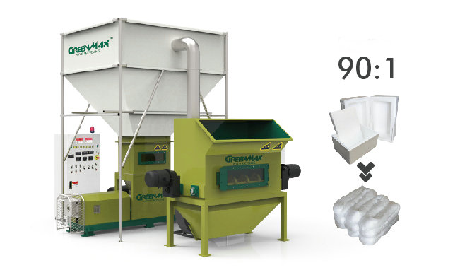 GREENMAX foam densifier M-C300 for sale