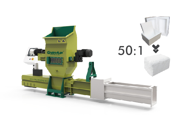 GREENMAX foam compactor Z-C100 for fale