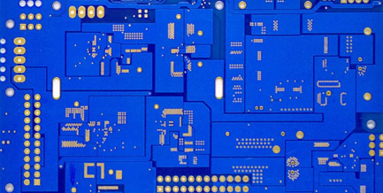 WIRING ON THE DOUBLE-SIDED BOARD——DOUBLE SIDED PCB