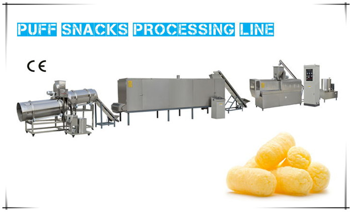 Food Extrusion Machine-Puff Snacks Processing Line