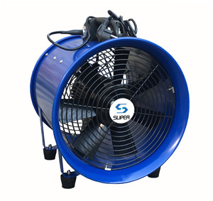 OEM Blue Portable Blower  Portable Blower price  Portable Ventilaion Fan china