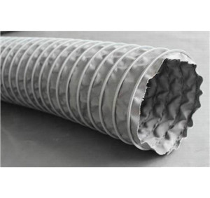 450℃ Heat Resistant Duct  Flexible Duct  Fire resistant Air Distribution Duct   Industrial Ducting Hose supplier