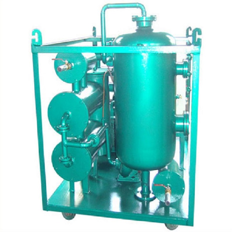 ZJCQ TYA TY Coalescer High Vacuum Hydraulic Turbine Oil Lube Oil Gear Oil Purifier Purification Filter Machine System for Used Turbine Oil Filtration Treatment Dehydration Recycle Extend Oil Life for