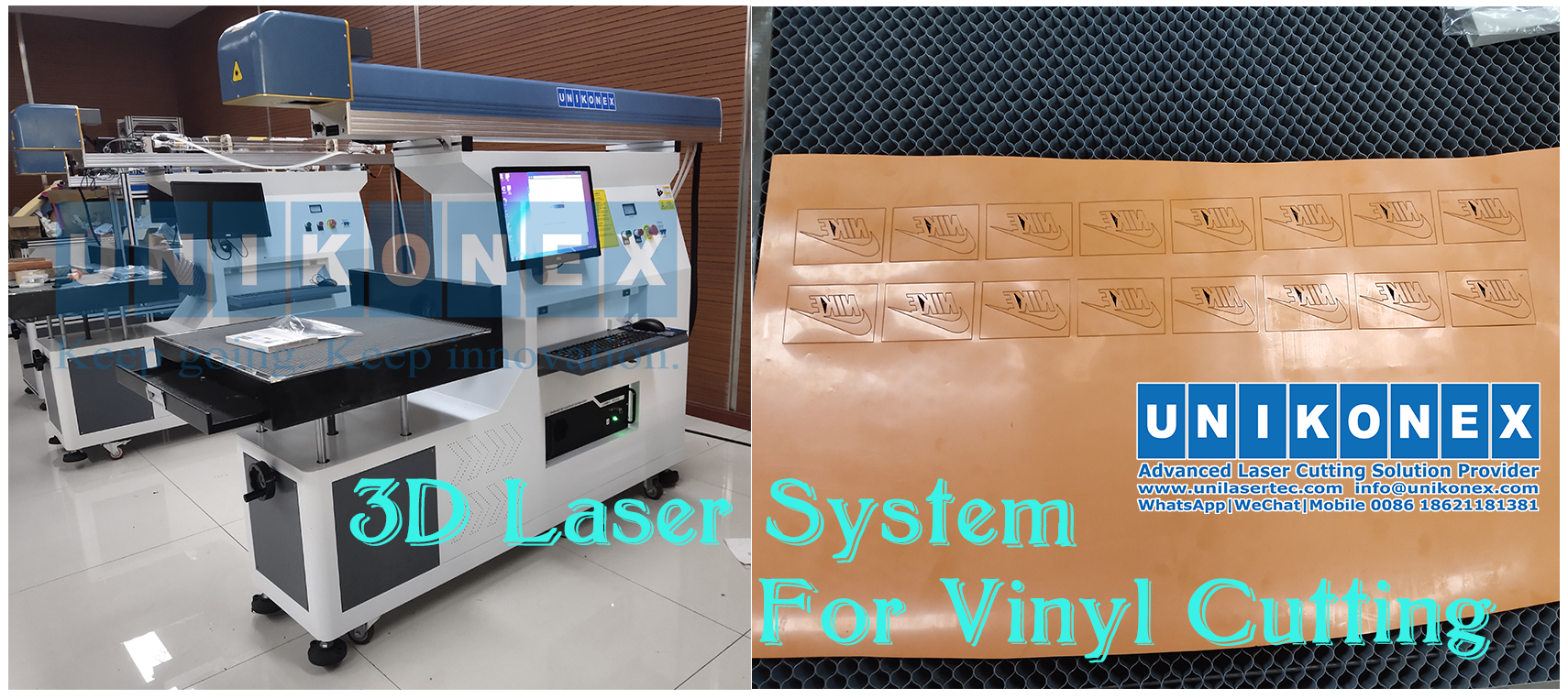 Advantages of 3D Laser Cutting Vinyl