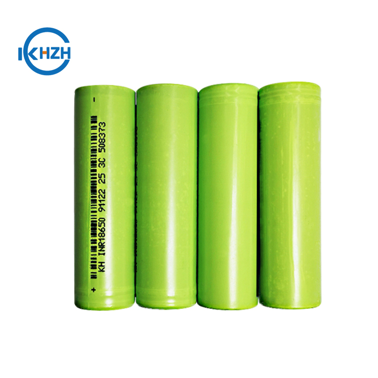 High power lithium battery 3.7V 2500mah 18650 lithium ion battery for electric scooter, electric motorcycle and electric bicycle