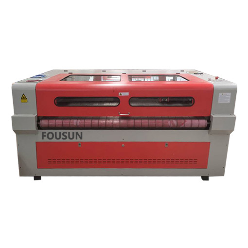 Automatic Feeding CNC Fabric Laser Machine