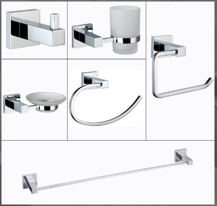 China cheap complete bathroom accessories  bath hardware Sets