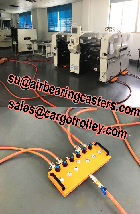 Air caster moving systems is popular in nowadays