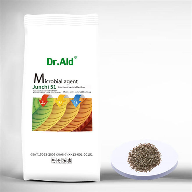 Dr. Aid NPK 25 10 16 Sulphur Based Microbial Fertilizer