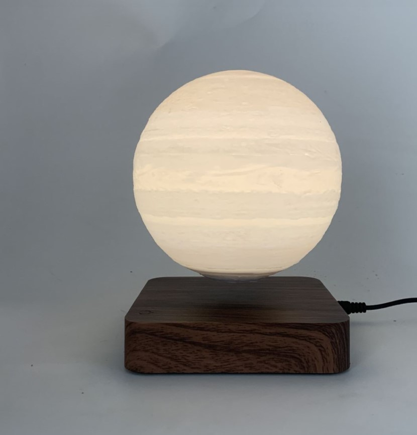 magnetic levitation floating planet lamp light for decor gift